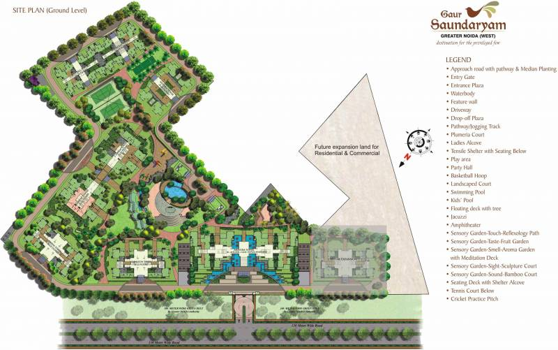 Images for Site Plan of Gaursons Saundaryam