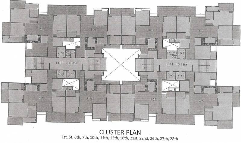 Images for Cluster Plan of Gaursons Saundaryam