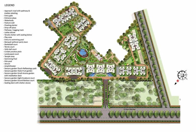 Images for Master Plan of Gaursons Saundaryam