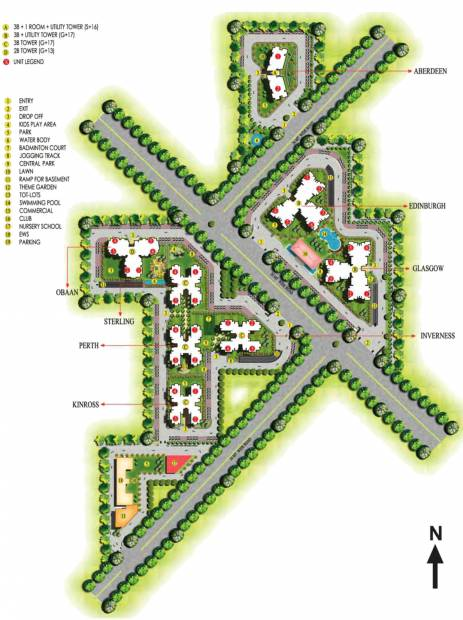 Images for Master Plan of Ansal Highland Park