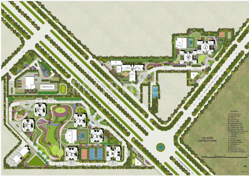 Images for Site Plan of Adani Oyster Grande