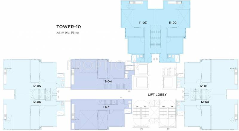 Images for Cluster Plan of Bhartiya Nikoo Homes