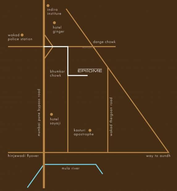 Images for Location Plan of Kasturi Epitome