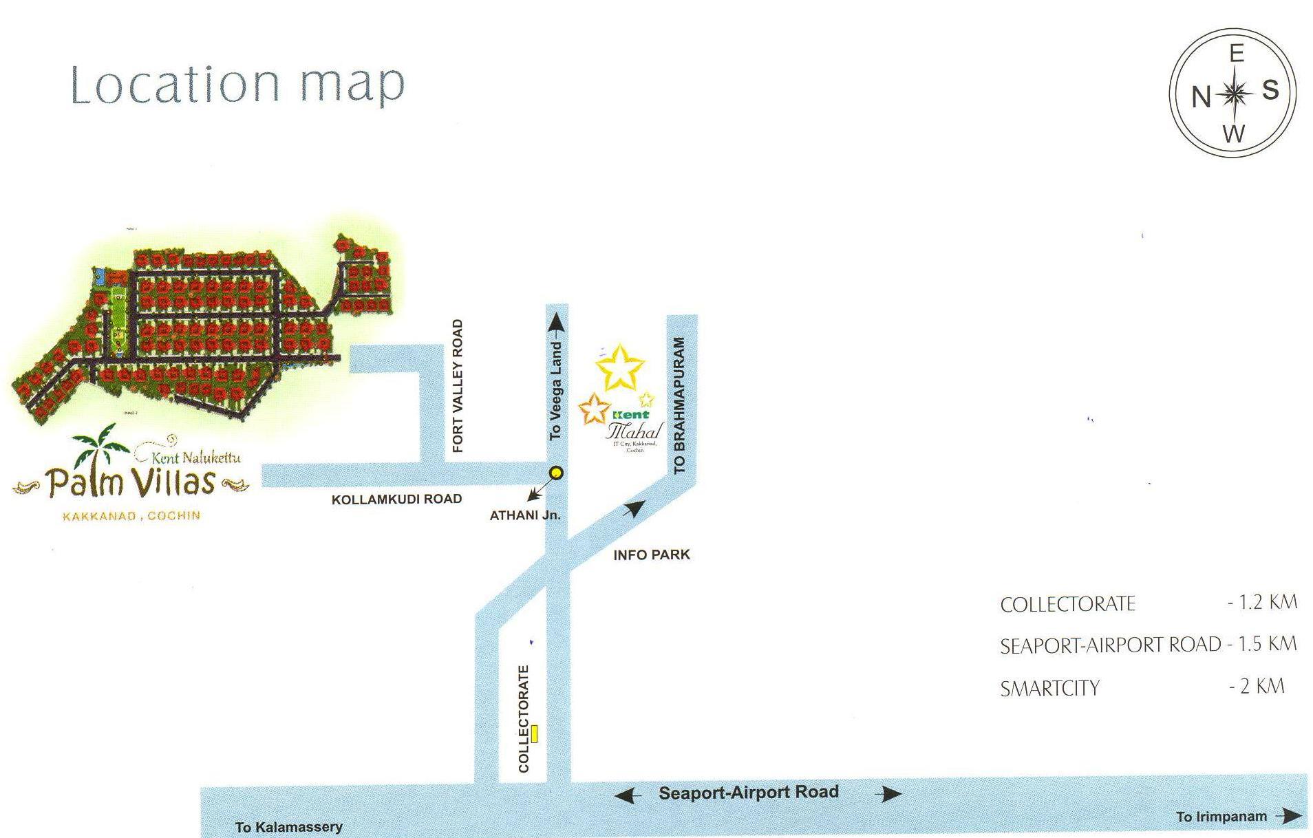Kent Nalukettu Palm Villas in Kakkanad, Kochi - Price, Location Map ...