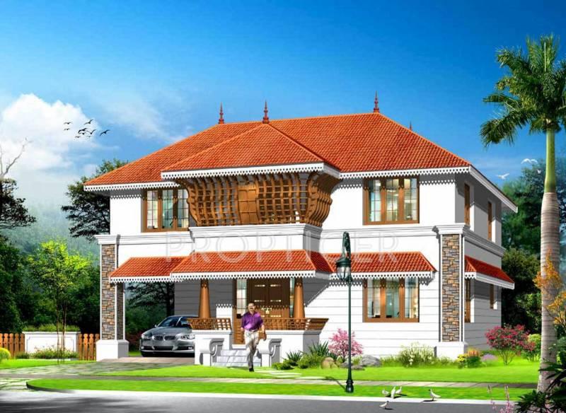Images for Elevation of Kent Nalukettu Palm Villas
