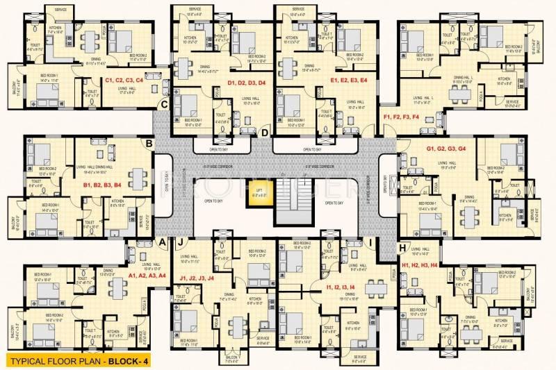 Images for Cluster Plan of BSR GLN Residency