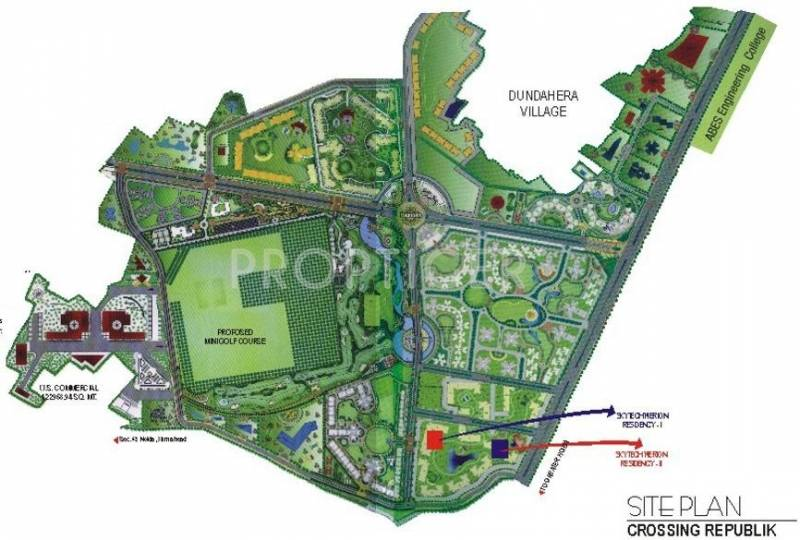 Images for Layout Plan of Skytech Merion Residency II