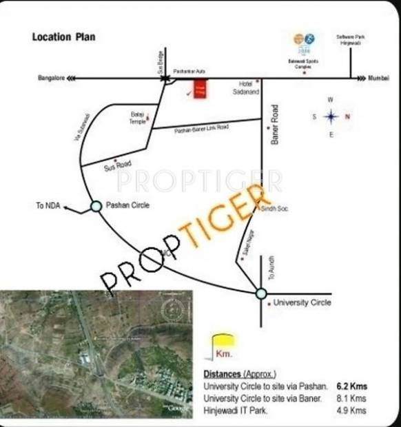 Images for Location Plan of Aggarwal The West Wing