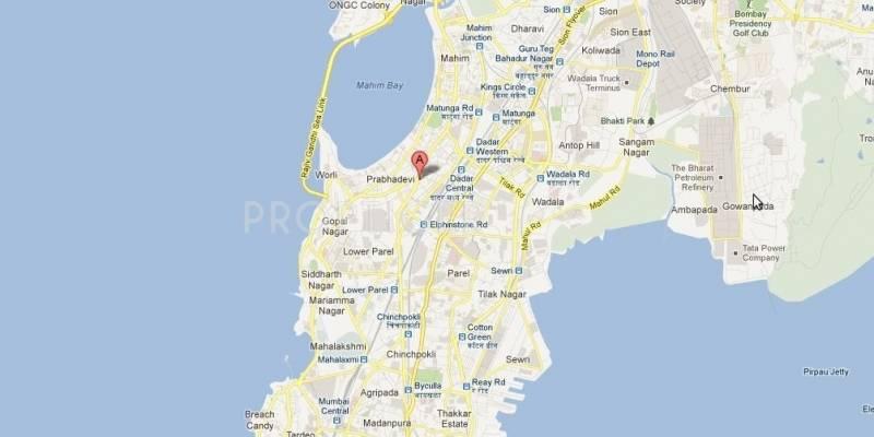 Vijaya Homes Ankur Apartment Location Plan