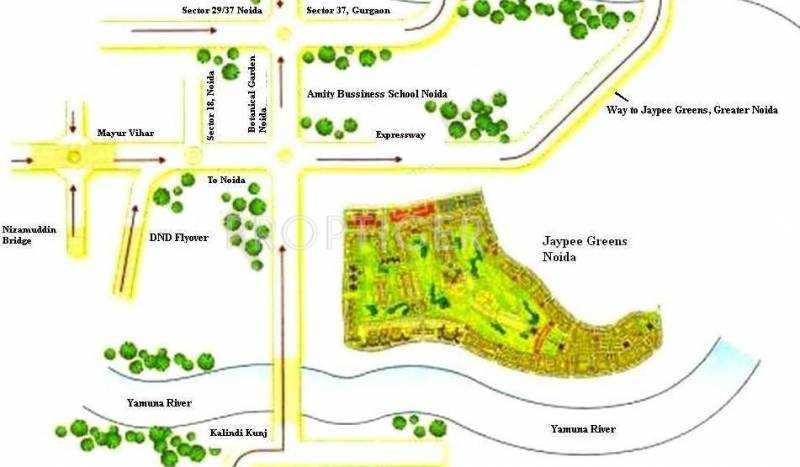 Images for Location Plan of Jaypee Town Homes