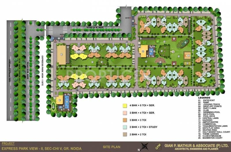 Images for Layout Plan of Nimbus Express Park View 2