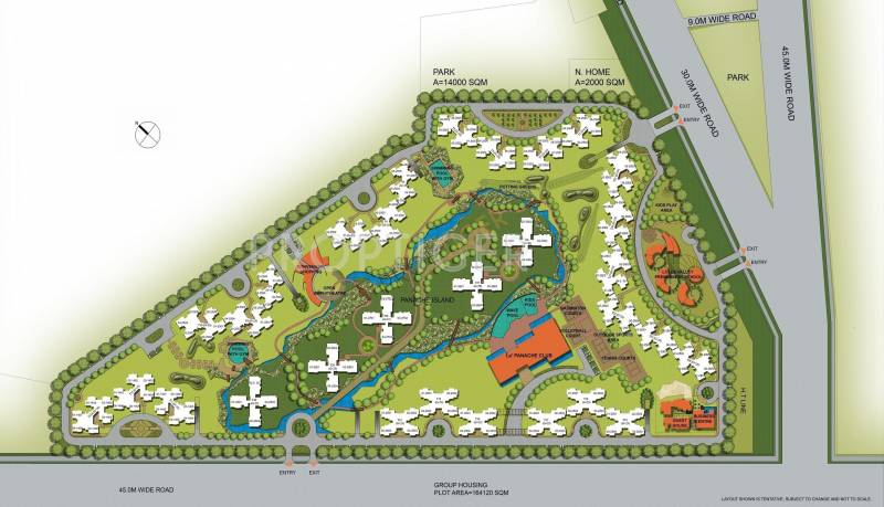 Images for Site Plan of 3C Lotus Panache