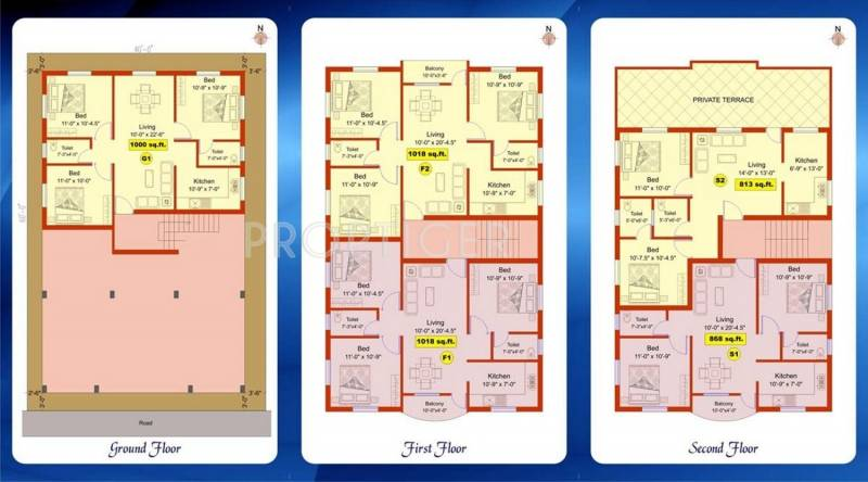 Images for Cluster Plan of Aliyah Foundation Celsia