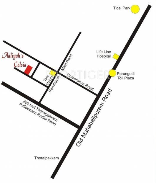 Aaliyah Foundation Aaliyahs Celsia Location Plan