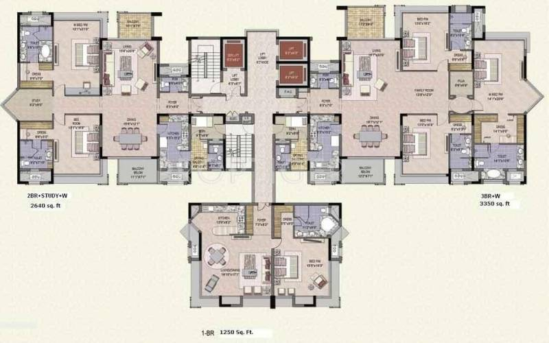 Images for Cluster Plan of Jaypee Crescent Court