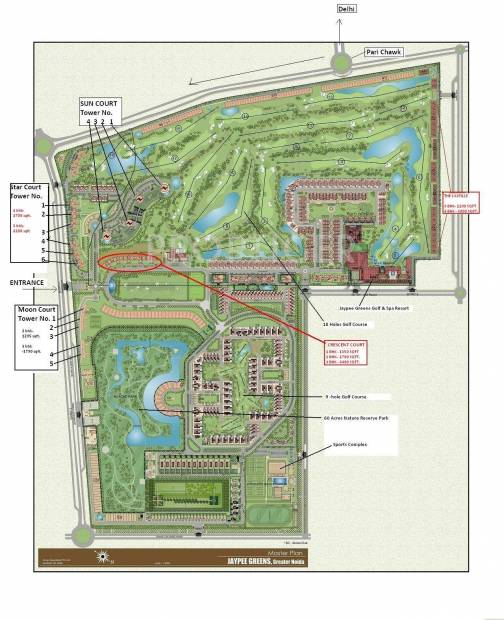 Images for Master Plan of Jaypee Crescent Court