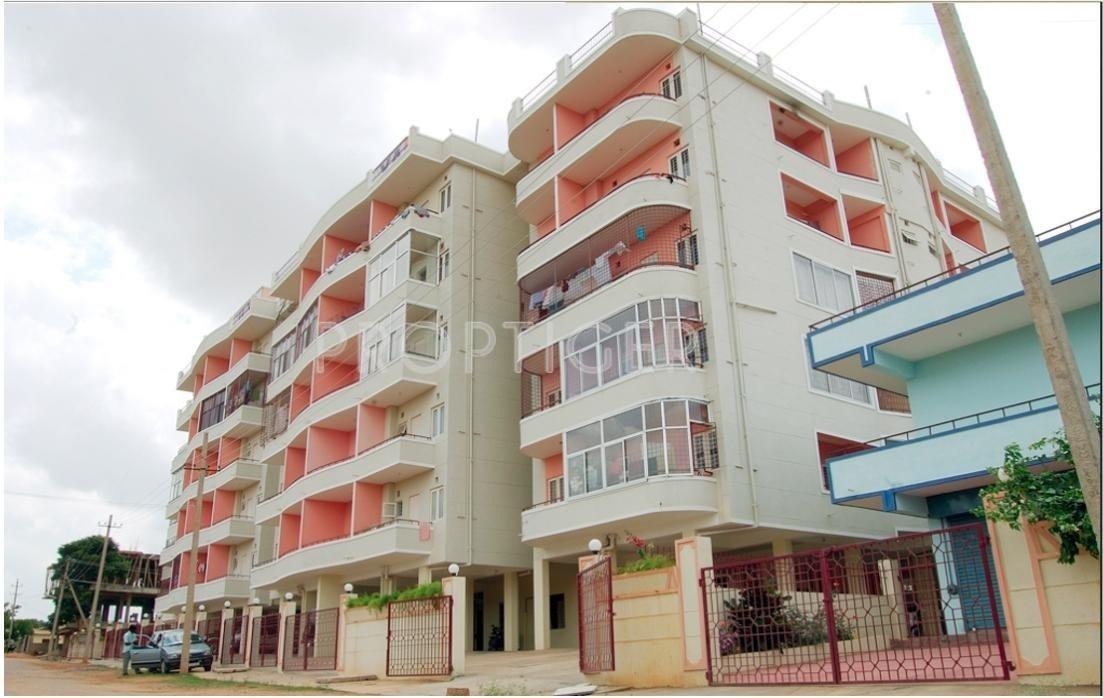 Foyer Apartment Ramamurthy Nagar : Main elevation image of amulya constructions park