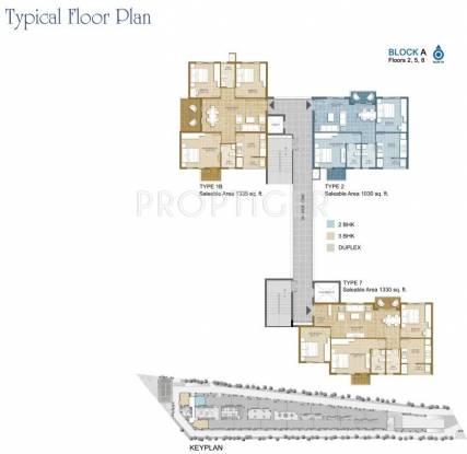 platina Images for Cluster Plan of MJR Platina