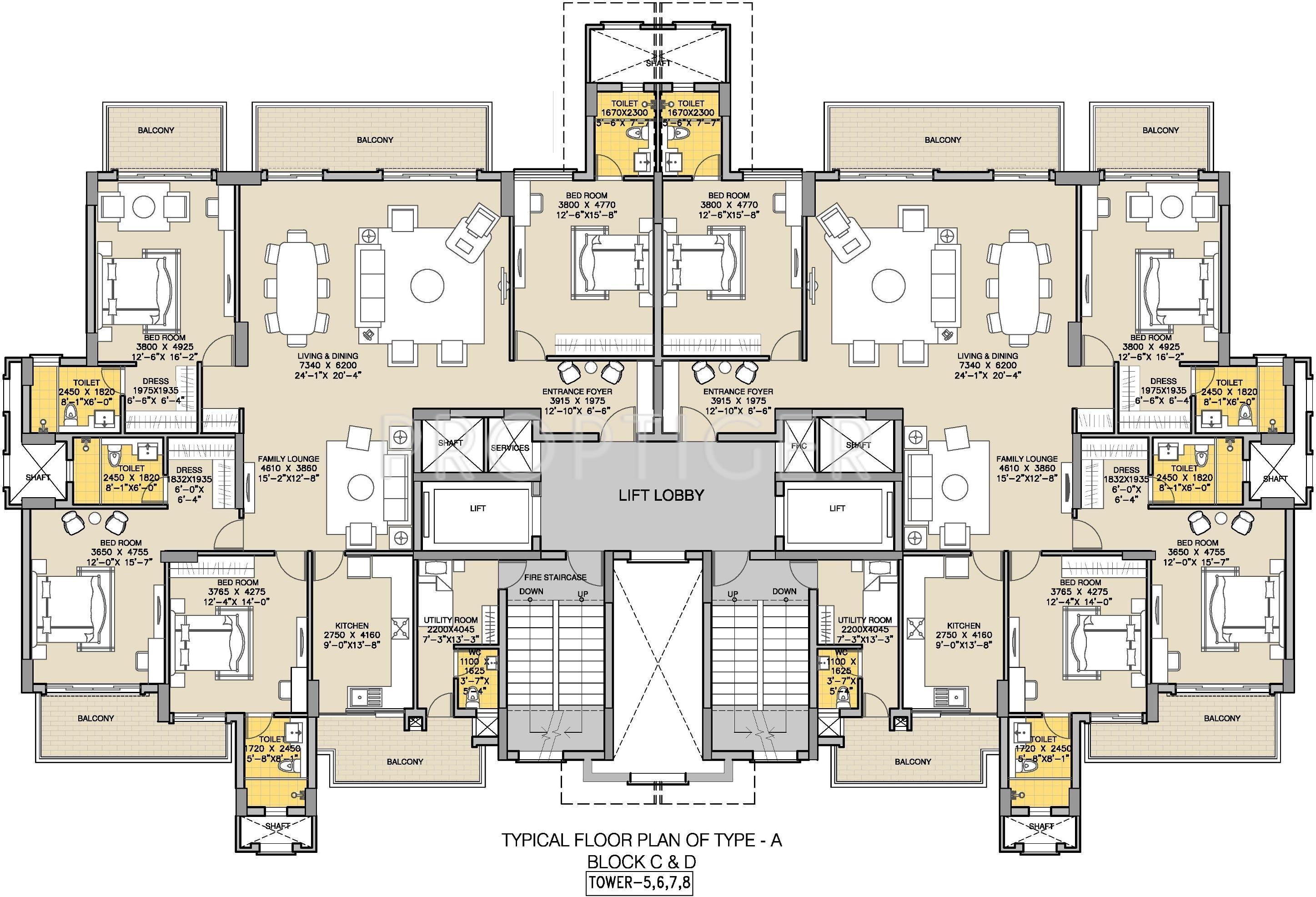 Ats Triumph In Sector 104 Gurgaon Price Location Map Floor Plan Reviews Proptiger Com