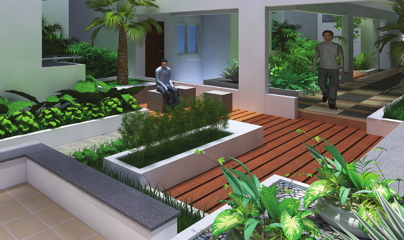Image of swimming pool of mana projects jardin sarjapur - Swimming pool builders in bangalore ...