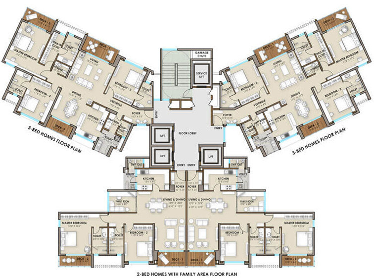2415 Sq Ft 3 BHK 3T Apartment For Sale In The Phoenix