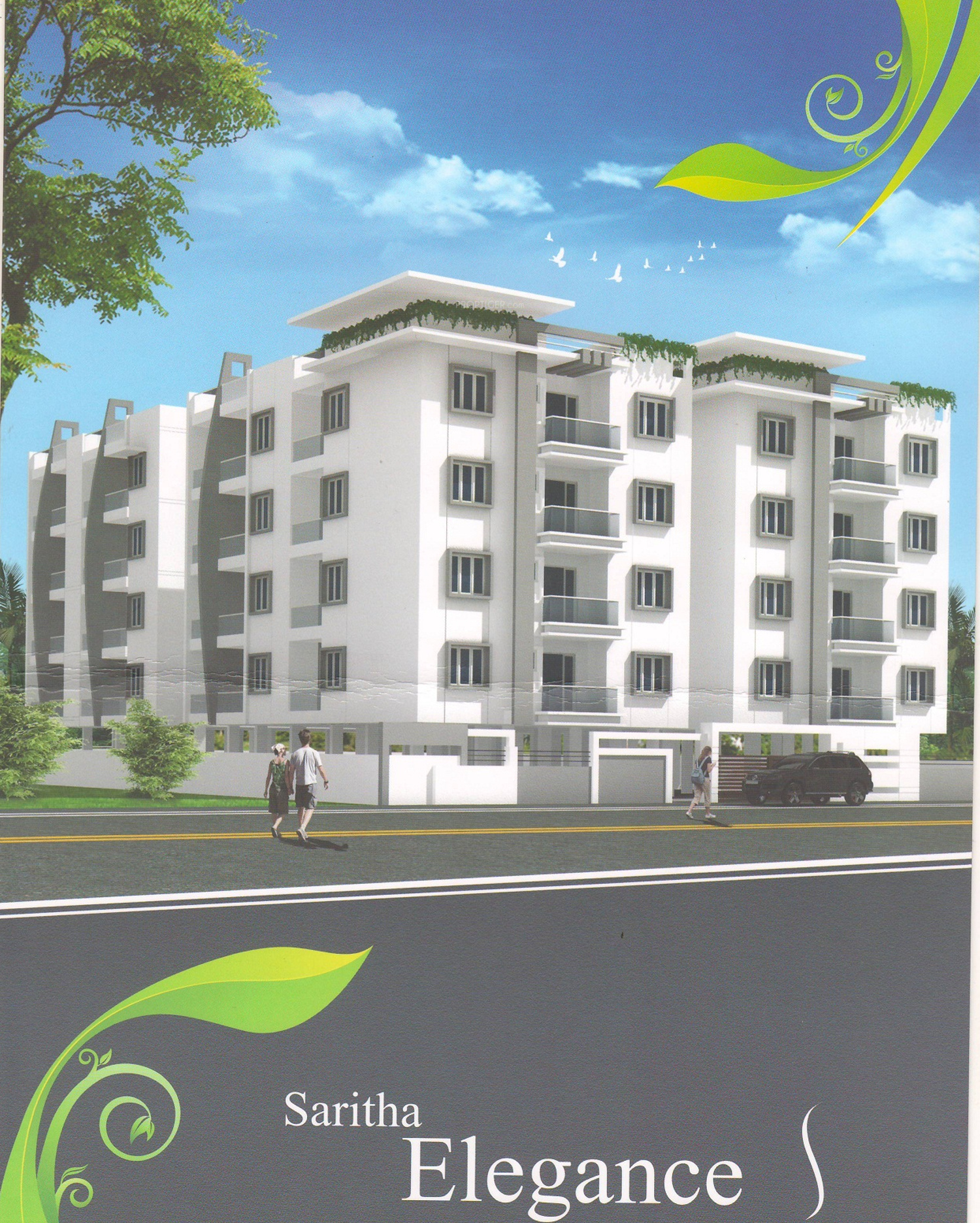 Image Of Location Map Of Js Homes Saritha Elegance Marathahalli Bangalore