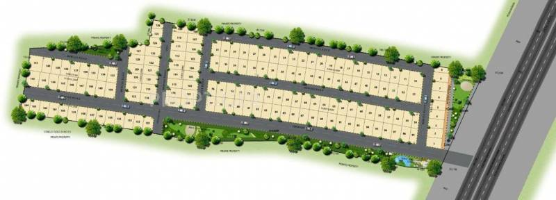 JS Homes Lotus Layout Plan