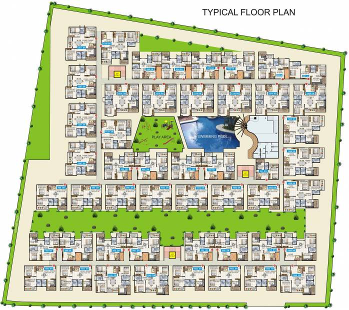 Images for Cluster Plan of Mahaveer Fortune