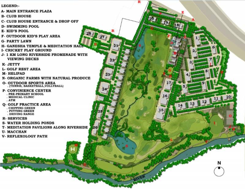 Images for Master Plan of Lodha Belmondo