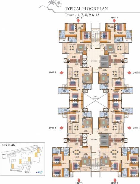 Images for Cluster Plan of Prestige Royale Gardens