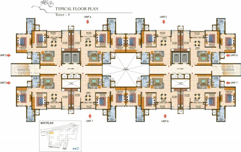 Images for Cluster Plan of Prestige Royale Gardens