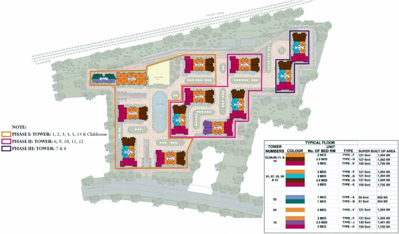 Images for Layout Plan of Prestige Royale Gardens