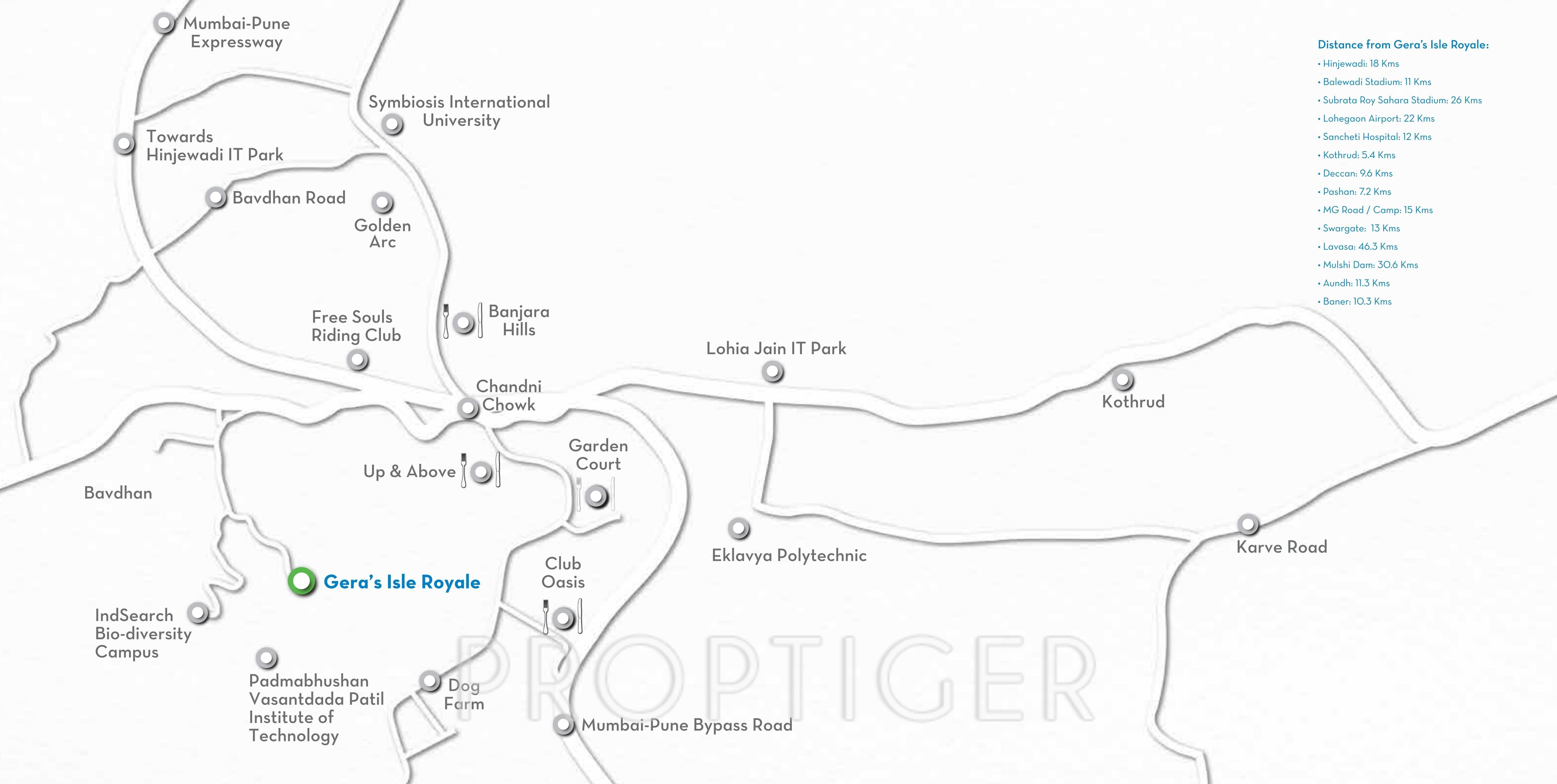 Geras Isle Royale in Bavdhan Pune Price Location Map Floor Plan