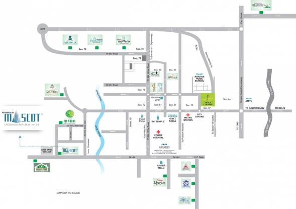 Images for Location Plan of Mahagun Group Mascot