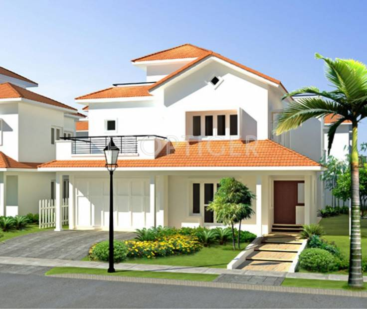 Images for Elevation of Adarsh Palm Retreat Villas