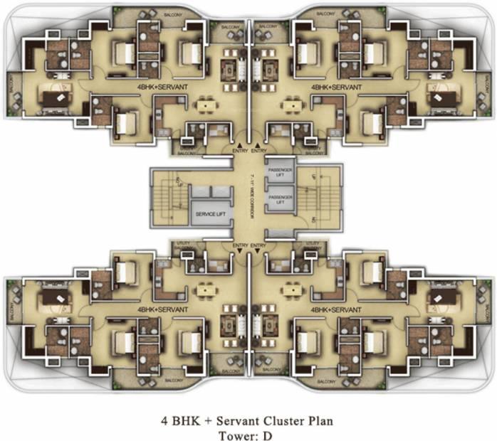 dews Images for Cluster Plan of Paras Dews