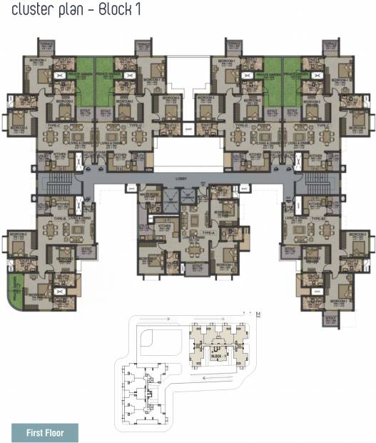 Images for Cluster Plan of Sobha Ivory