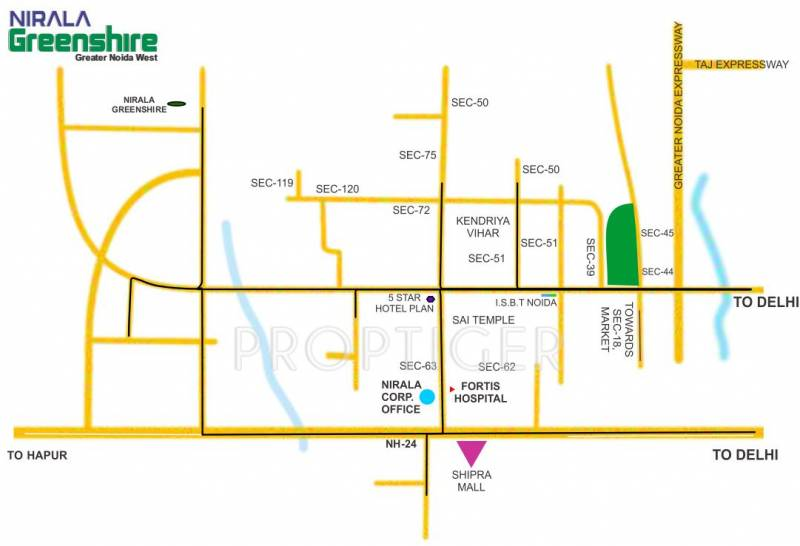 Images for Location Plan of Nirala Greenshire