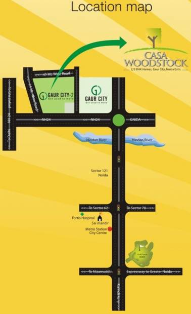 Images for Location Plan of Uppal Casa Woodstock