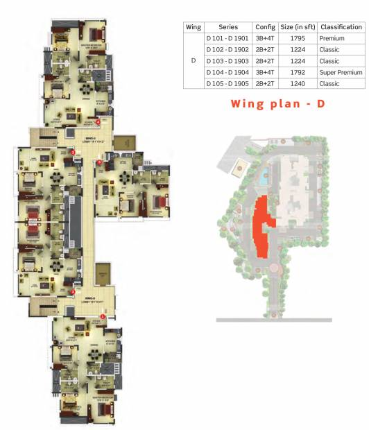 Images for Cluster Plan of Purva Sunflower