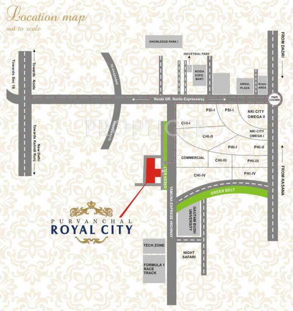 royal-city Images for Location Plan of Purvanchal Royal City