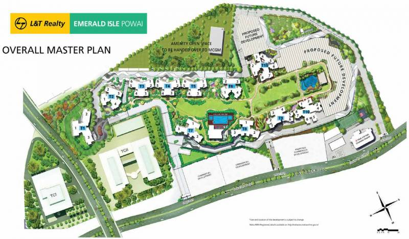 Images for Master Plan of L And T Emerald Isle