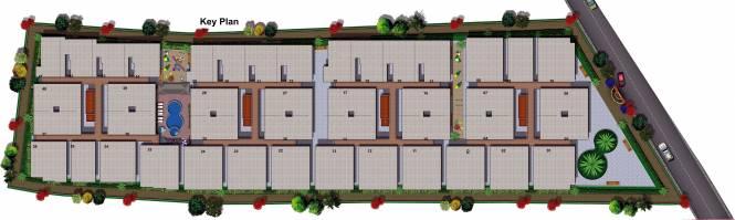 Images for Site Plan of Nirman Silver Oak