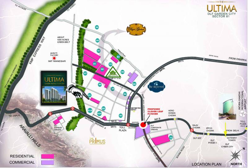Images for Location Plan of DLF Ultima