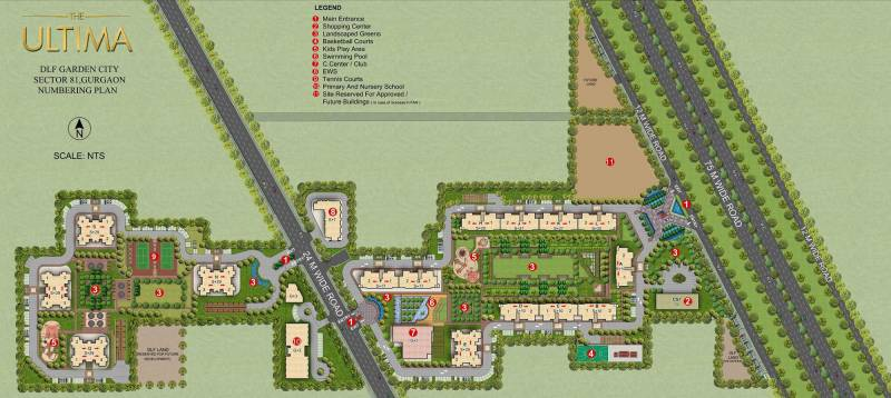 the-ultima Images for Master Plan of DLF Ultima