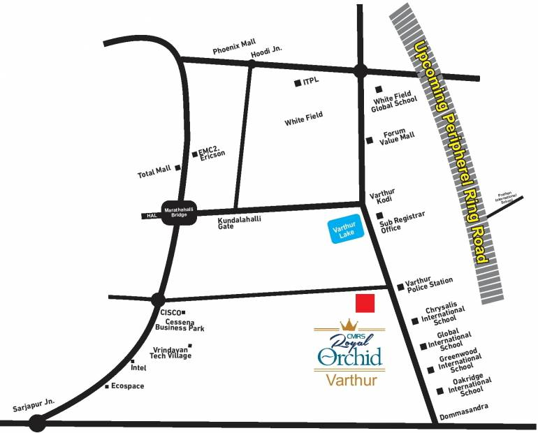 royal-orchid Images for Location Plan of CMRS Royal Orchid