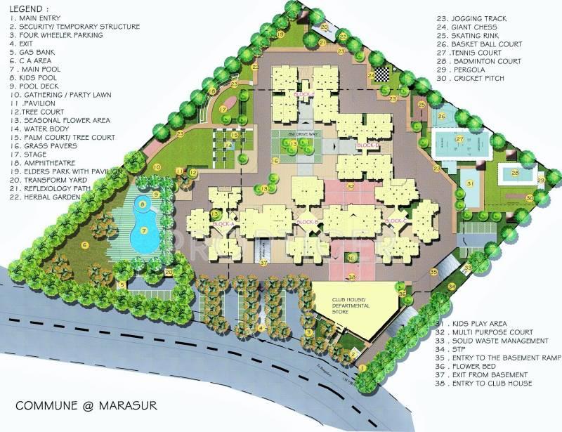 Images for Master Plan of Golden Commune