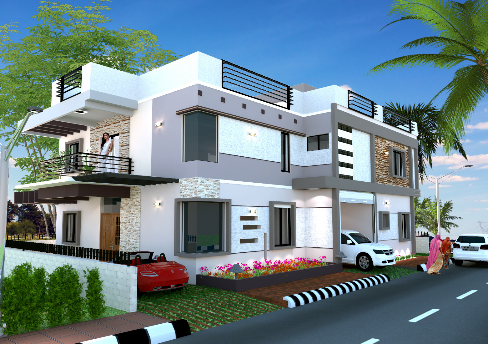 Home Land Developers Hl Villa 640695 on Residential Floor Plans And Elevations