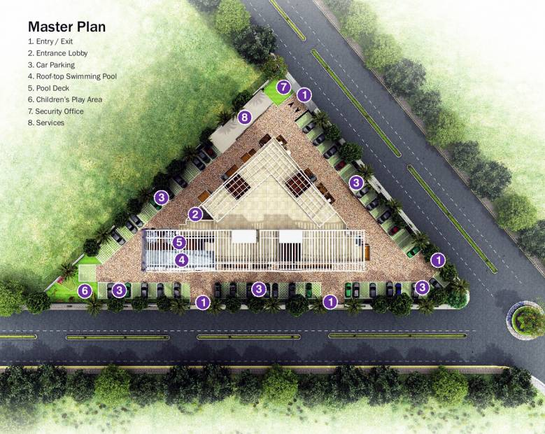 Images for Master Plan of Unishire Belvedere Premia