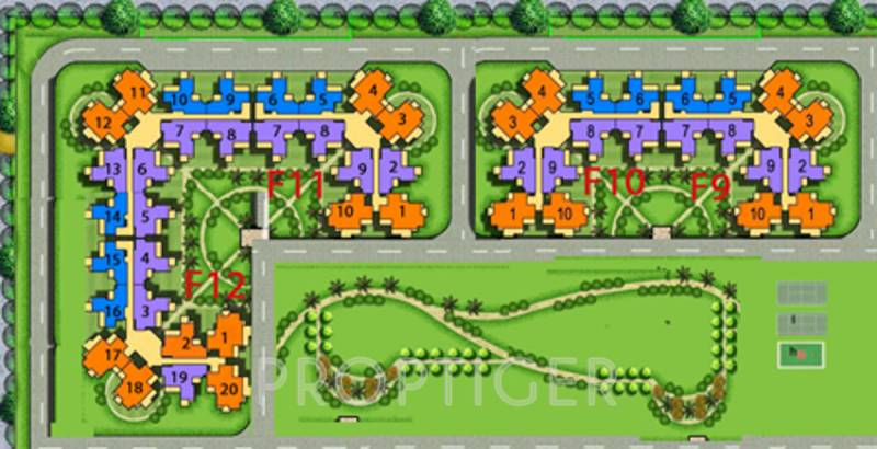 Images for Site Plan of Amrapali Tropical Garden